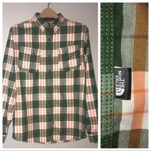 The North Face Plaid Button Down Shirt